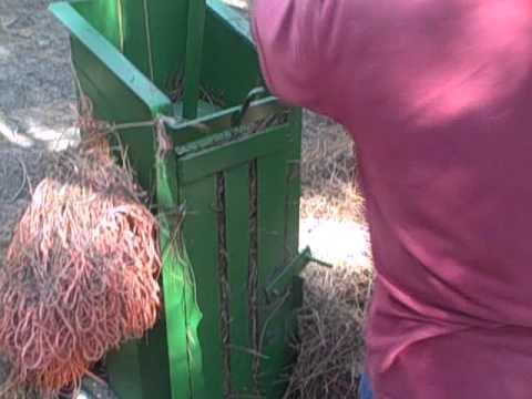 Making A Better Pine Straw Bale