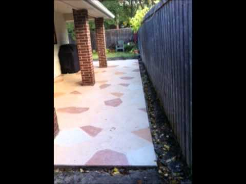 Dallas Fort Worth Area Concrete Patio Installation Beginning To End