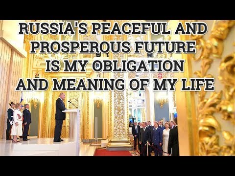 WATCH Putin's Full Speech As He Is Sworn In As President of Russia At Grand Kremlin Palace