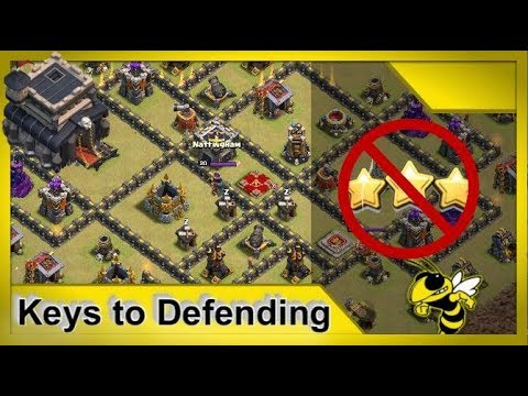 TH9 Anti 3-Star War Base Fundamentals - Advanced Guide