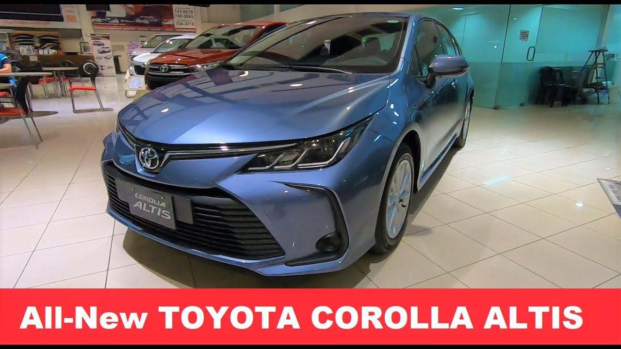 All New 2020 Toyota Corolla Altis 1 6 G Manual Manual Guide