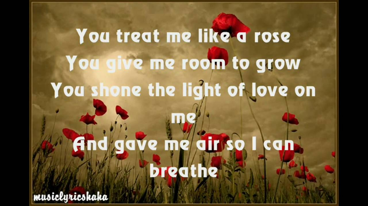 HD] A1 - Like A Rose with lyrics - YouTube