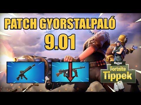 Új Tactical Ar és Drum gun nerf  Patch útmutató 901 Fortnite