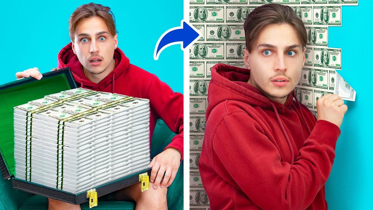 8 วิธีซ่อนเงินแสนสนุก!