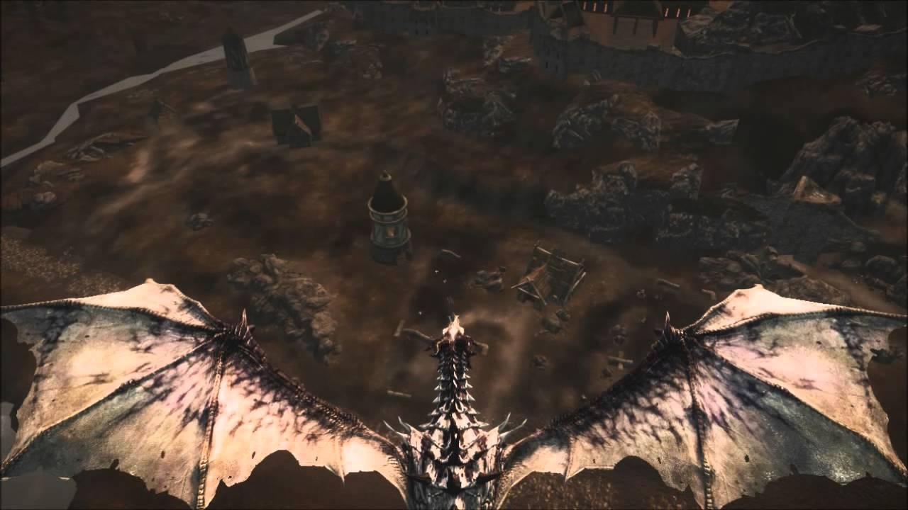 Моды на Скайрим на Превращение в Дракона