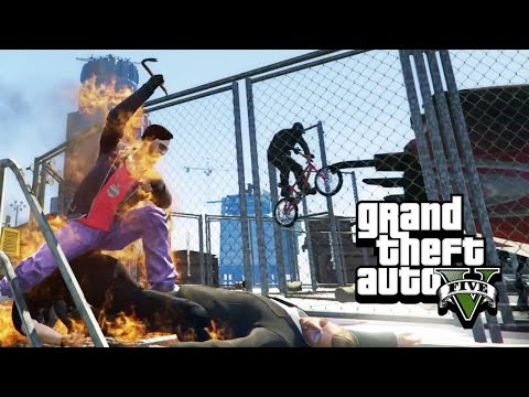 RAGE IN THE CAGE - GTA 5 Gameplay