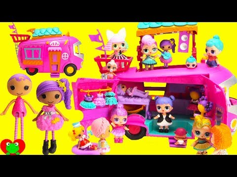 Lalaloopsy Music Concert With LOL Surprise Dolls