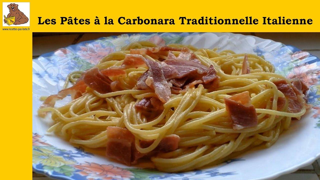 les p 226 tes 224 la carbonara traditionnelle italienne recette rapide et facile