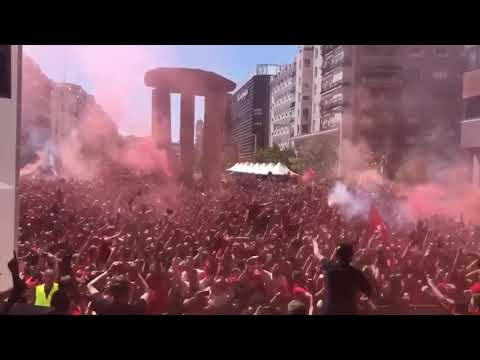 Liverpool Fans In Madrid (he's Our Number 4)