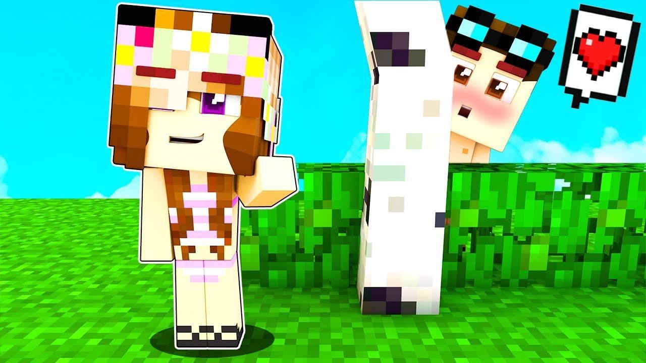 Casa Piscina Di Lava Contro Casa Piscina D Acqua Su Minecraft Youtube