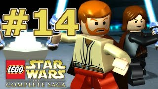 LEGO Star Wars: The Complete Saga Walkthrough - Chapter 14: Chancellor In Peril!