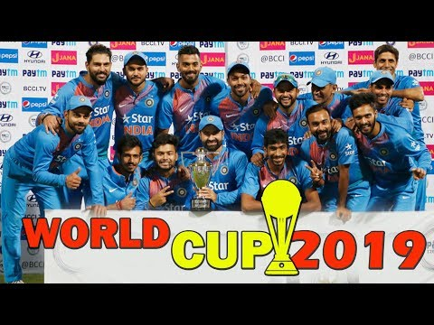 World cup 2019 indian team's 25 Selected Players Squad | ICC world cup 2019 india team final list