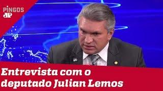 'Fui atacado de forma sorrateira', diz deputado Julian Lemos sobre crise no PSL
