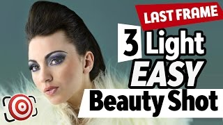 Repeat youtube video 3 Light Beauty Shot - EASY Portrait Lighting - The Last Frame EP-13