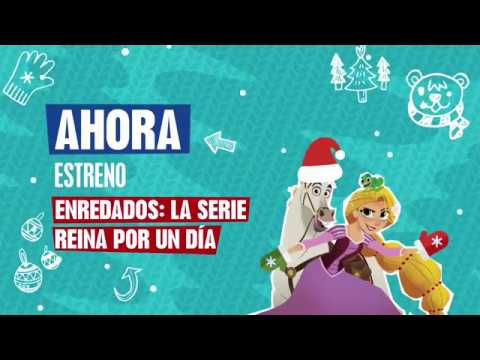 Disney Channel HD Spain - Christmas Continuity 08-12-17