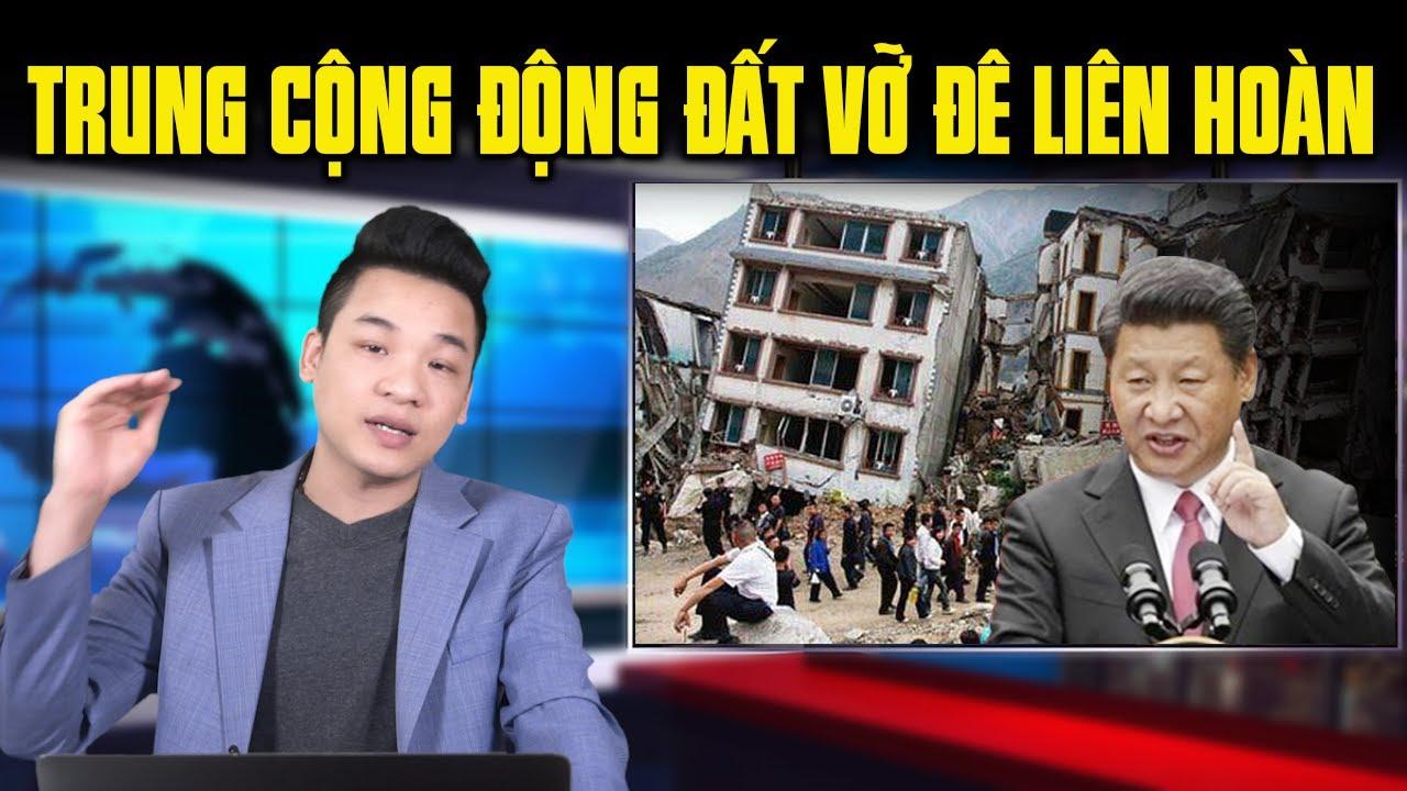 Trời diệt Trung Cộng: 15 đê vỡ liên hoàn, động đất 5.2 độ richter rung chấn Bắc Kinh