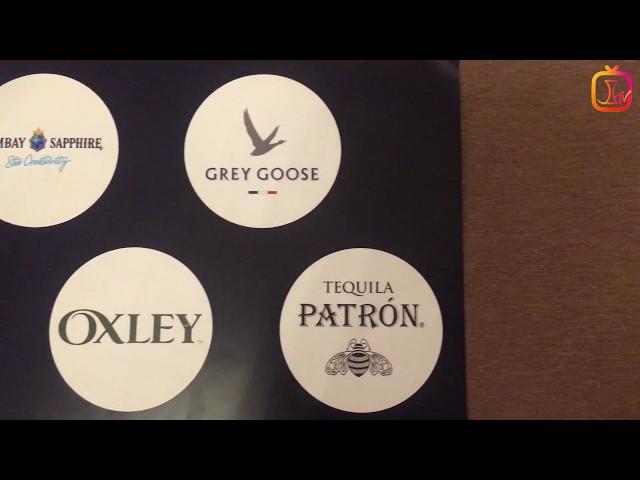 Bombay, Patron, Bacardi, Grey Goose, Martini, Oxley KKTC Duty Free Eğitimi