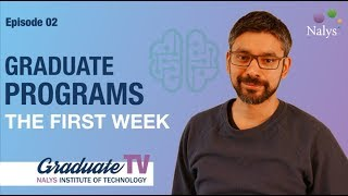 First week of the Nalys graduate programs | Graduate TV 02 | Nalys consulting