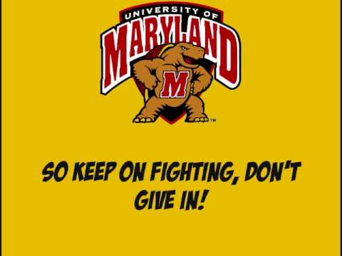 Maryland Victory Song - YouTube