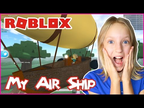 I Got an Air Ship / Roblox TreeLands