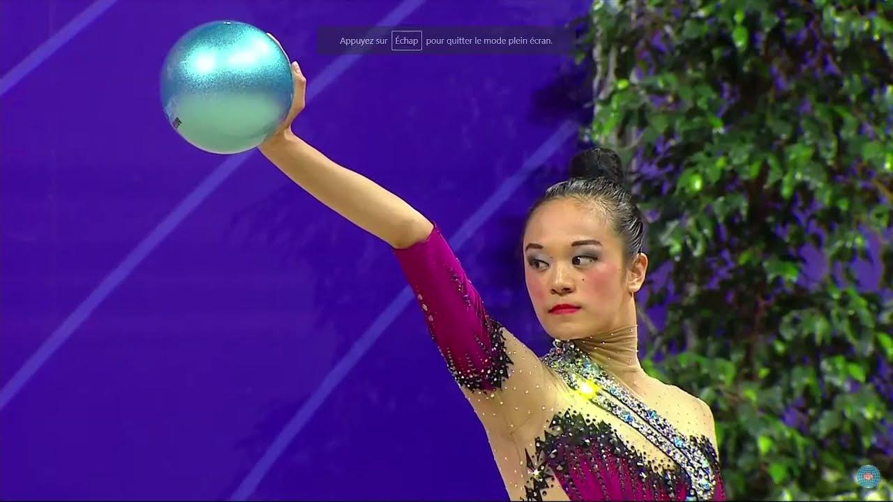 Laura Zeng Ball Final World Cup Pesaro 2021