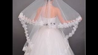 Фата с кружевом своими руками.  / DIY / Wedding  Veil(Фата с кружевом своими руками. / DIY / Wedding Veil Приветствую Вас на моем канале!!! В этом видео Вы сможете ознаком..., 2015-10-08T07:40:28.000Z)