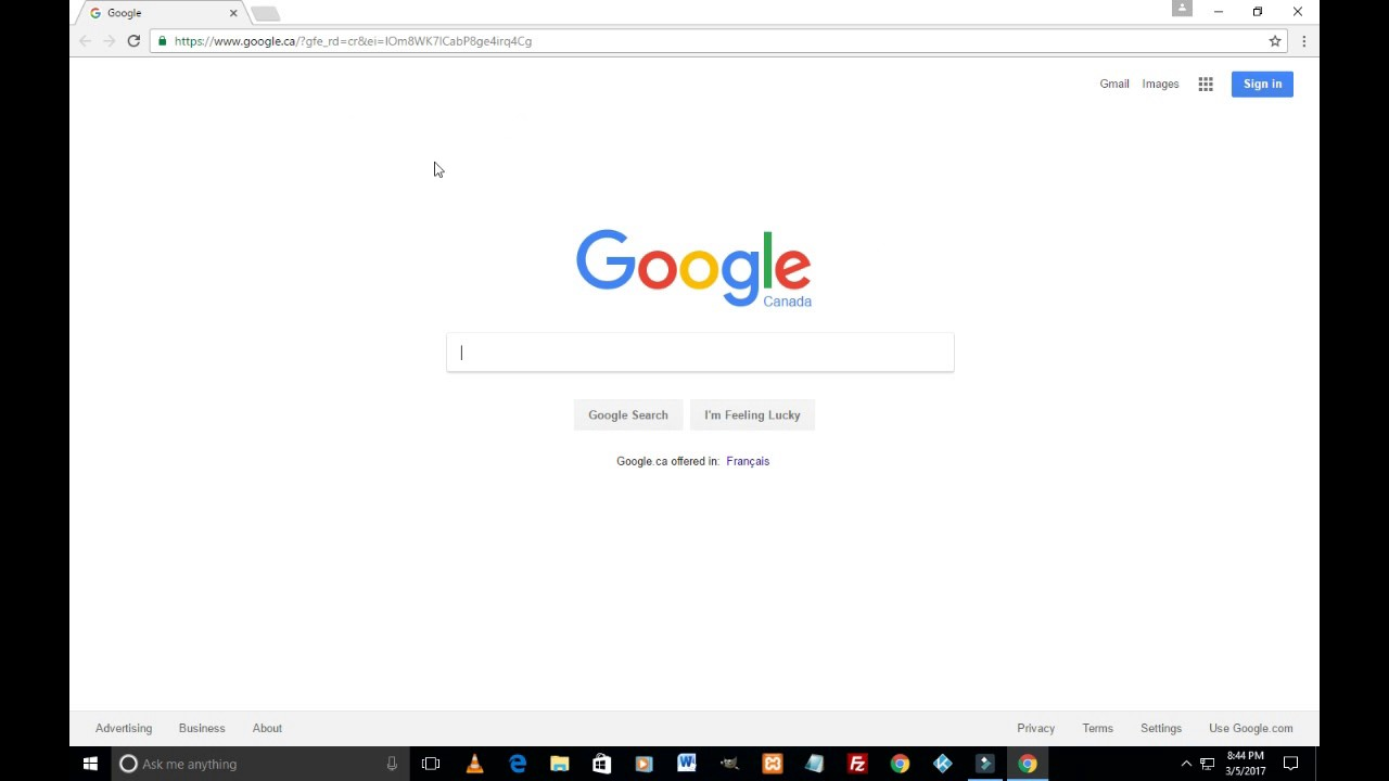 How To Make Google Your Homepage In Google Chrome  How To