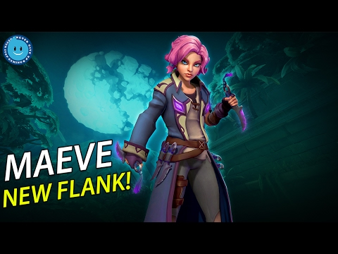 New Flank Champion Maeve! GOD'S GIFT TO THE FLANK CLASS! (Paladins Patch OB43)