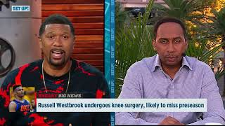 Jalen Rose and Stephen A. break down Russell Westbrook's knee surgery | Get Up! | ESPN
