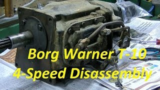 Studebaker Rescue Video #25   4 speed Disassembly Part I