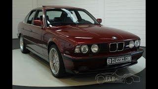 BMW M5 E34 Saloon 1992-VIDEO- www.ERclassics.com