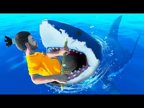 HOW TO KILL THE SHARK!? - Raft Multiplayer