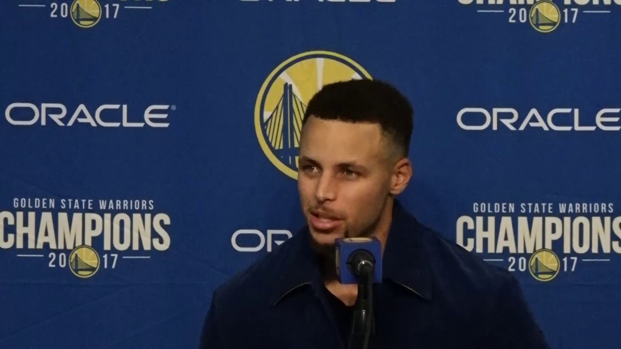 Stephen Curry on losing Draymond Green in loss to Rockets