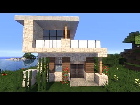 видео: Красивый дом в майнкрафт. Строим Вместе! - Строительство - minecraft