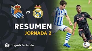 Resumen de Real Sociedad vs Real Madrid (0-0)
