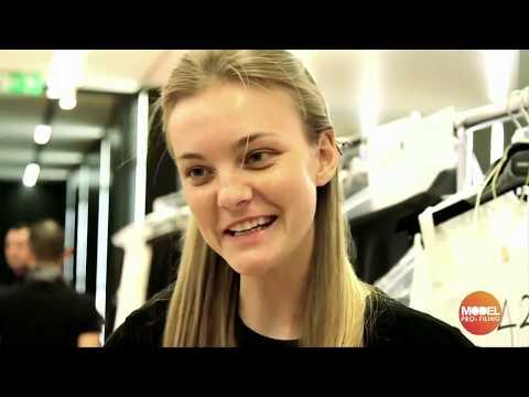 Caroline Trentini interview for Dolce and Gabbana