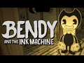 CARTOON HORROR GAME - Bendy and the Ink Machine - Chapter One