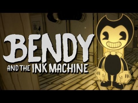 CARTOON HORROR GAME - Bendy and the Ink Machine - Chapter ...