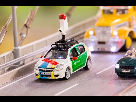 Explore the biggest model railway with the tiniest Street View – #MiniView on Google Maps
