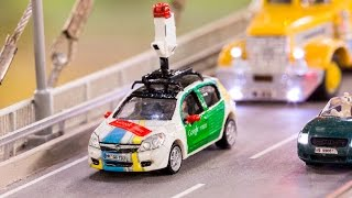 Explore the biggest model railway with the tiniest Street View - #MiniView on Google Maps