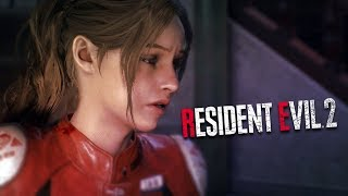 Resident Evil 2 CLAIRE vs LICKER Part 2