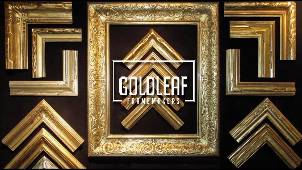 Goldleaf Framemakers: Production - YouTube