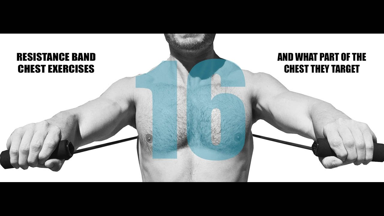 16 Resistance Band Chest Exercises And What Part Of The Chest They