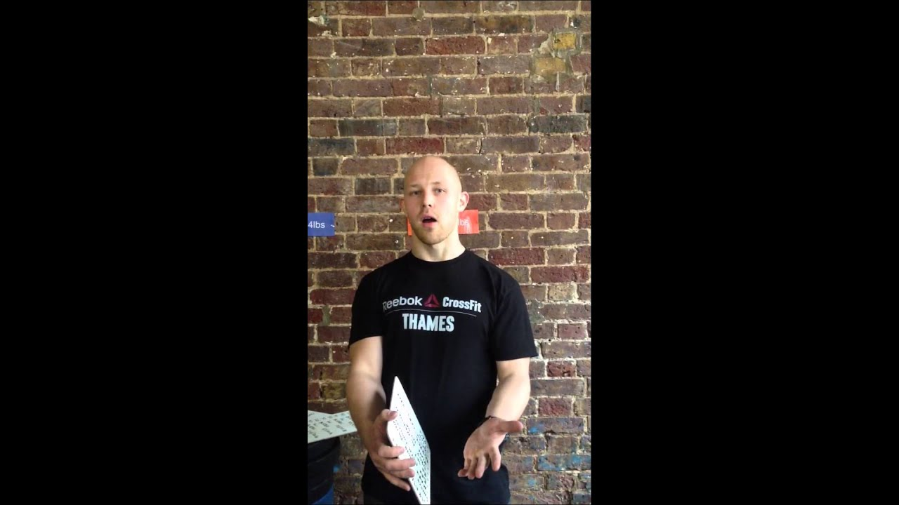 Preservativo Plata Ceder  13.1 Strategy - public - Jami Reebok CrossFit Thames - YouTube