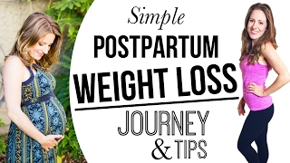 Easy Postpartum Weight Loss Tips & Self-Care For Moms After Baby!