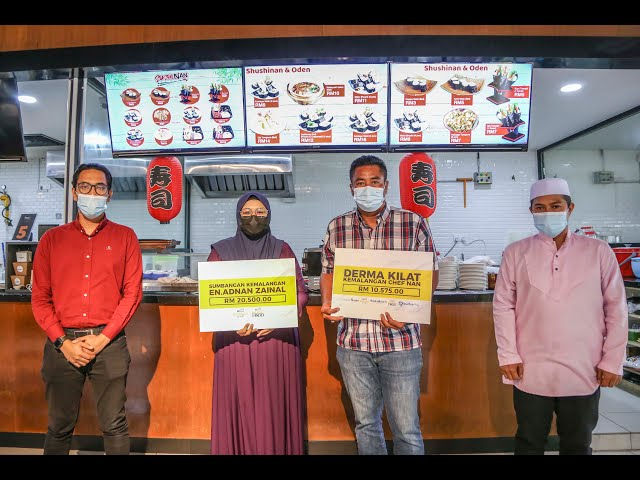 Malakat Mall tanggung kos pembedahan Cef Nan.