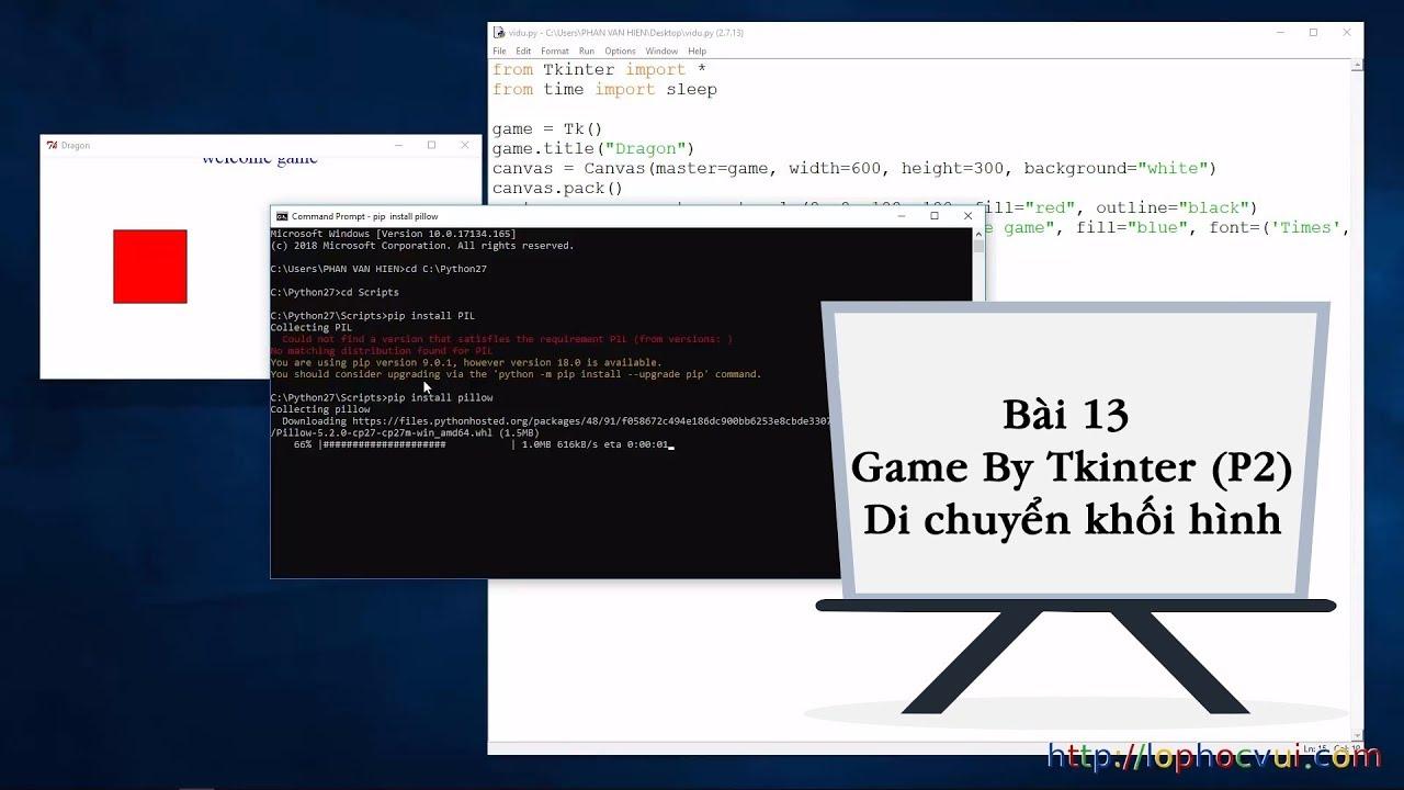 Lập Trình Python- Hàm và ứng dụng của python