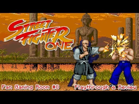 Street Fighter One - Fan Gaming Room #8