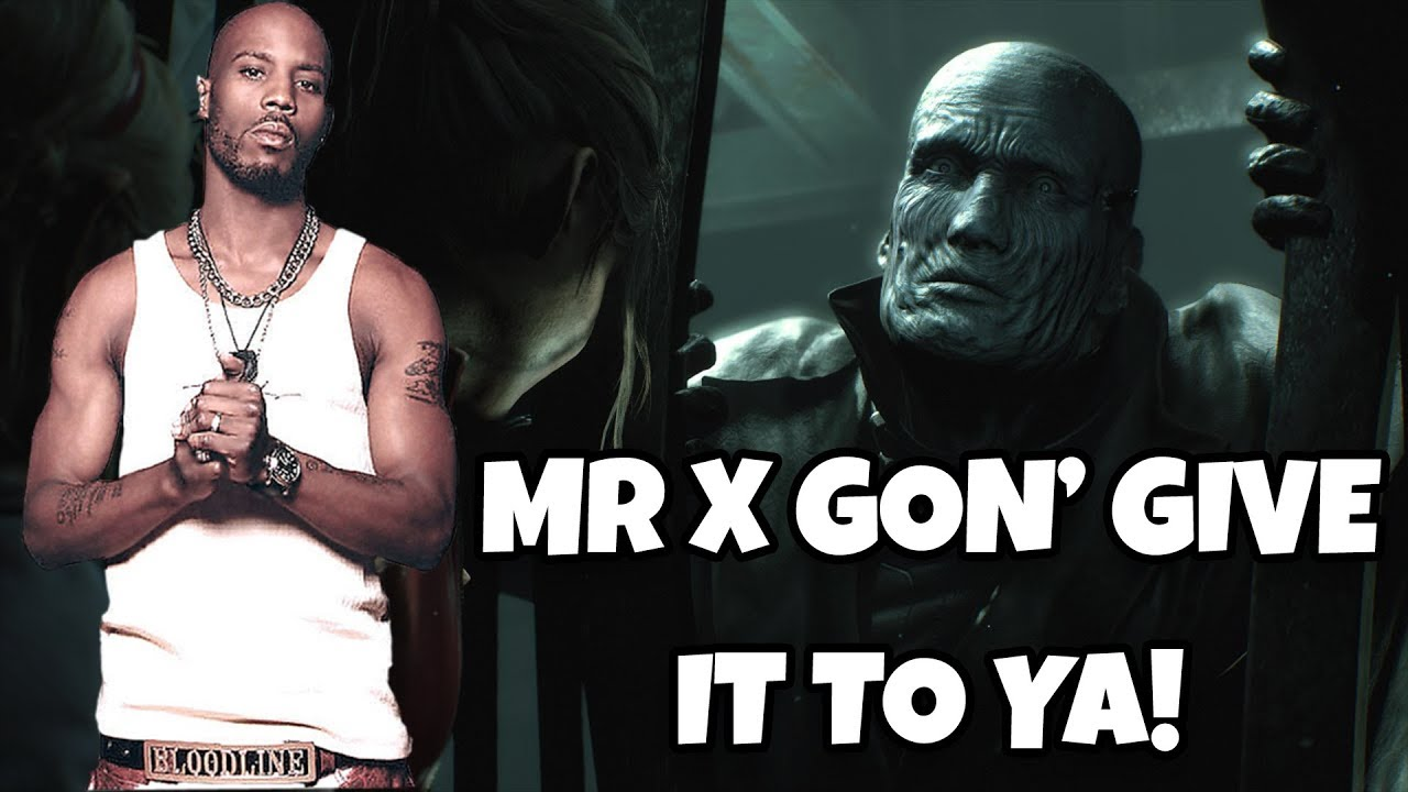 Mr X Gon Give It To Ya Resident Evil 2 Remake Youtube