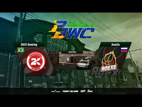 AOEXE (RUSIA) vs 2KILL Gaming (Brazil) PBWC 2018 BRAZIL Fase Group Map DOWNTOWN